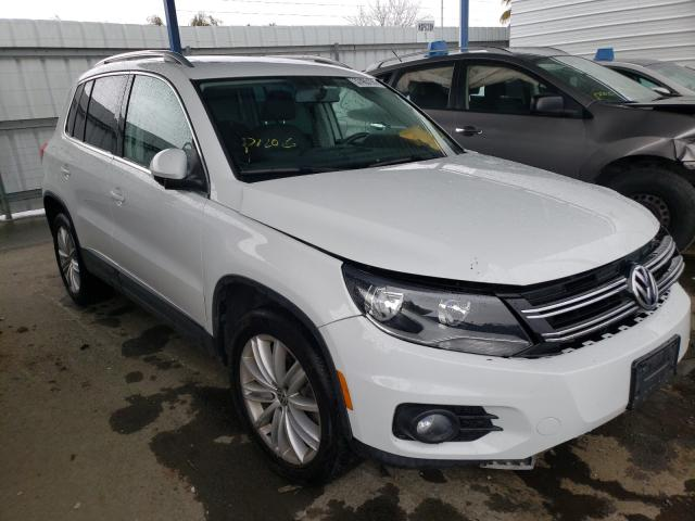 Salvage cars for sale from Copart Martinez, CA: 2015 Volkswagen Tiguan S