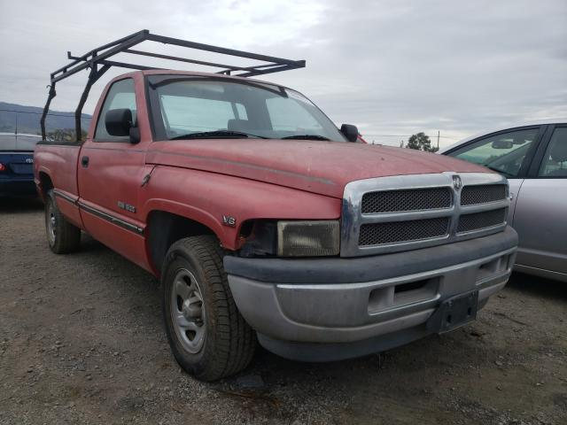 Salvage cars for sale from Copart San Martin, CA: 2000 Dodge 1500 RAM V