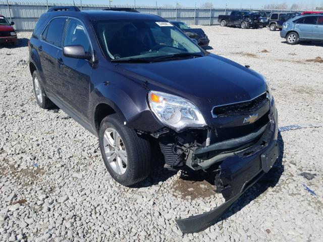 Salvage cars for sale from Copart Appleton, WI: 2015 Chevrolet Equinox LT