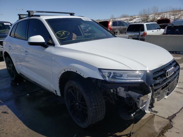 Salvage cars for sale from Copart Littleton, CO: 2019 Audi Q5 Premium