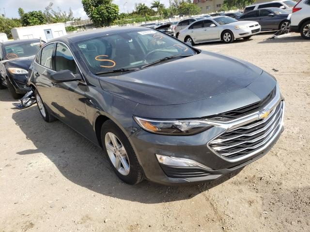 Salvage cars for sale from Copart Opa Locka, FL: 2020 Chevrolet Malibu LS