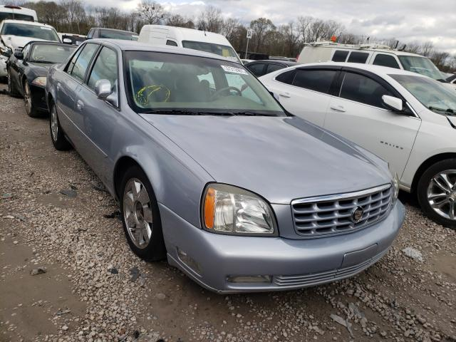 Cadillac salvage cars for sale: 2005 Cadillac Deville DT