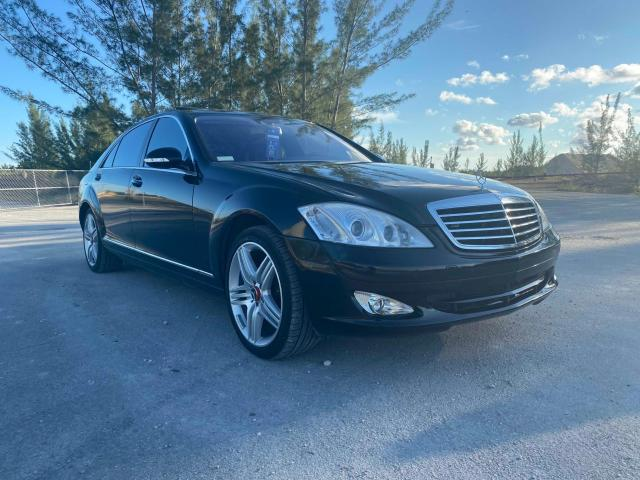 Salvage cars for sale from Copart Homestead, FL: 2008 Mercedes-Benz S 550 4matic