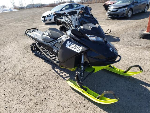 Salvage cars for sale from Copart Montreal Est, QC: 2018 Skidoo Summit SP