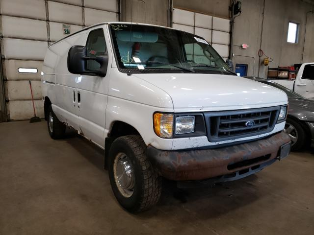 Ford E350 salvage cars for sale: 2006 Ford E350