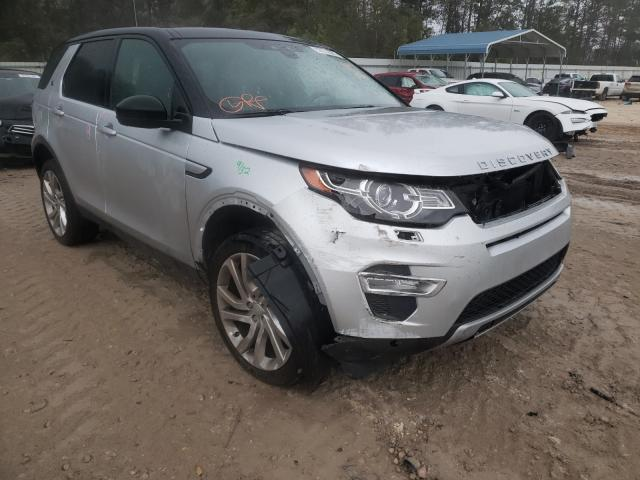 Salvage cars for sale from Copart Midway, FL: 2016 Land Rover Discovery