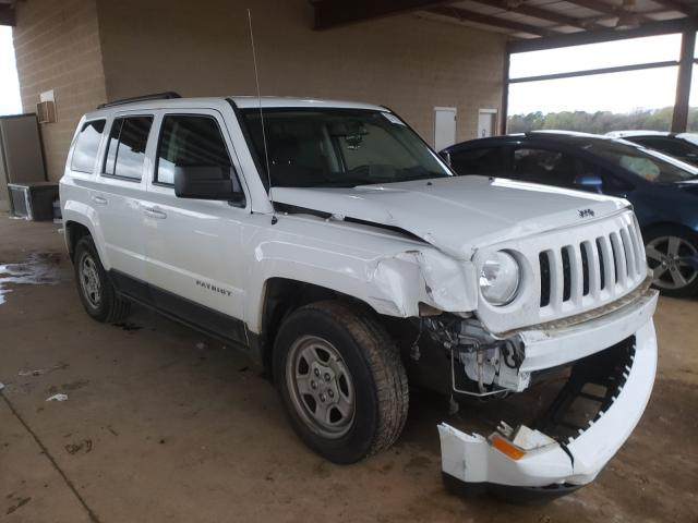 Salvage cars for sale from Copart Tanner, AL: 2016 Jeep Patriot SP