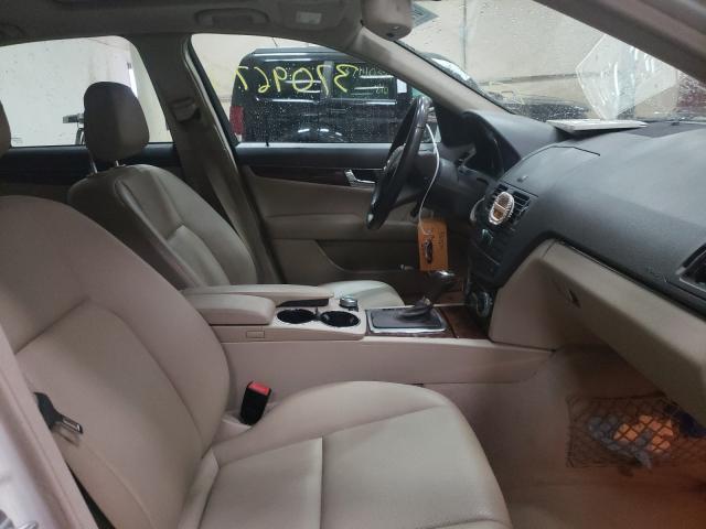 2011 MERCEDES-BENZ C 300 4MAT - Left Rear View