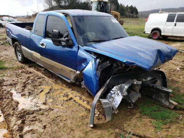 Salvage cars for sale from Copart Concord, NC: 2003 Chevrolet Silverado