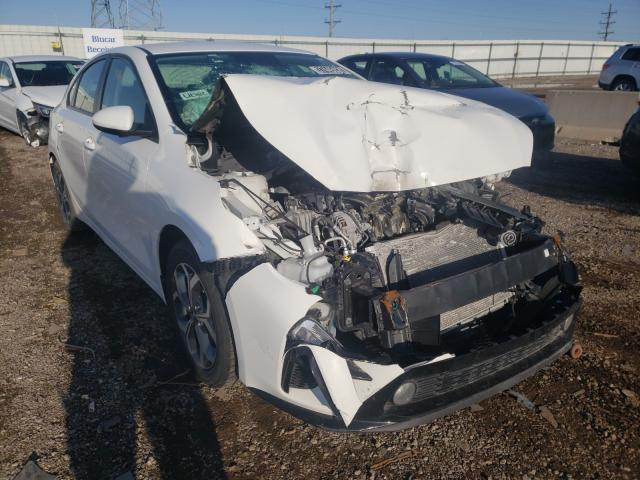 Salvage cars for sale from Copart Elgin, IL: 2019 KIA Forte FE