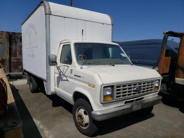 Salvage cars for sale from Copart Wilmington, CA: 1988 Ford Econoline