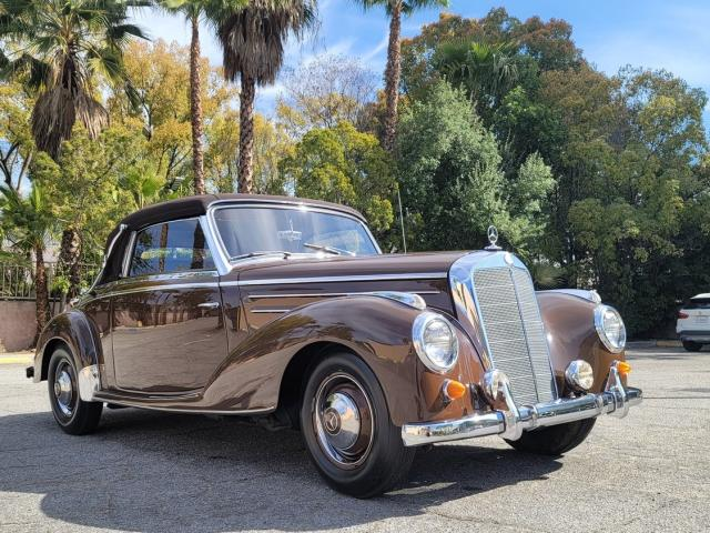 Mercedes-Benz salvage cars for sale: 1954 Mercedes-Benz 220