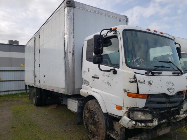 Nissan Diesel salvage cars for sale: 2011 Nissan Diesel UD2600