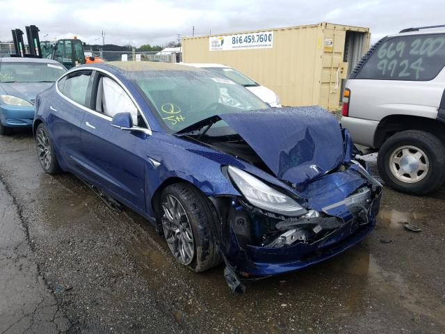 Salvage cars for sale from Copart San Martin, CA: 2019 Tesla Model 3