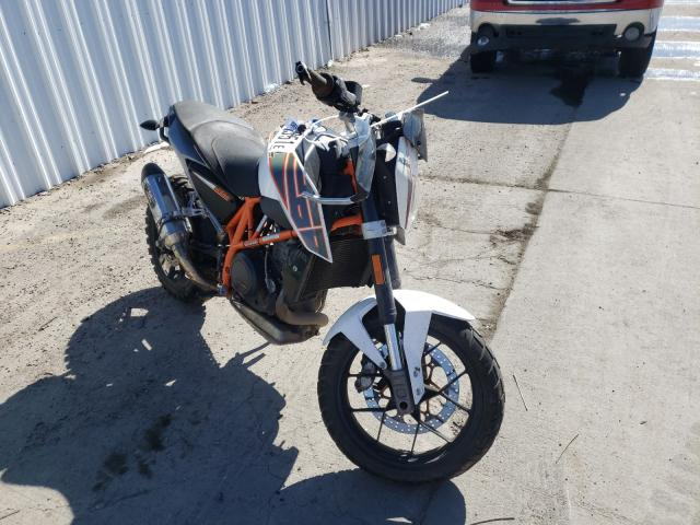 KTM salvage cars for sale: 2013 KTM 690 Duke