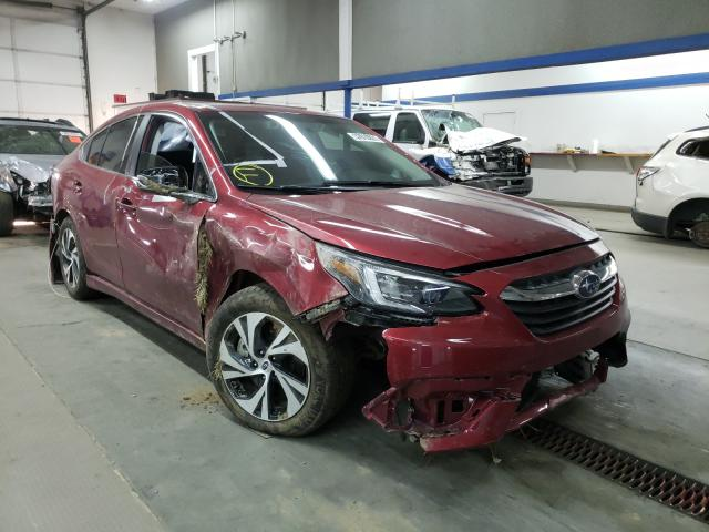 Salvage cars for sale from Copart Pasco, WA: 2021 Subaru Legacy PRE