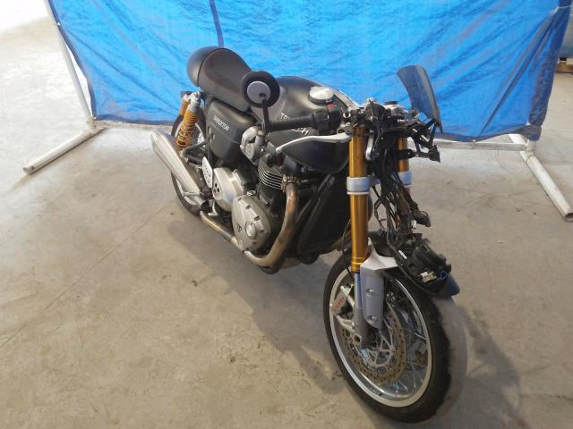 Salvage cars for sale from Copart Apopka, FL: 2017 Triumph Thruxton 1