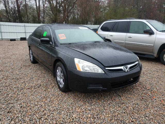 Salvage cars for sale from Copart Knightdale, NC: 2006 Honda Accord EX