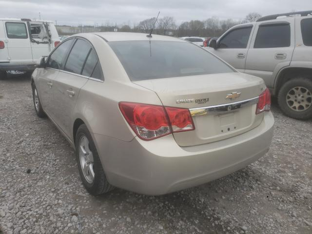 2011 CHEVROLET CRUZE LT - Right Front View