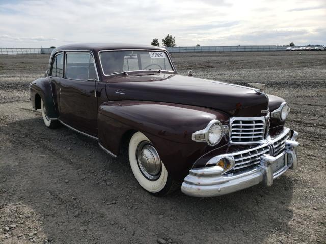 Lincoln salvage cars for sale: 1946 Lincoln Continental