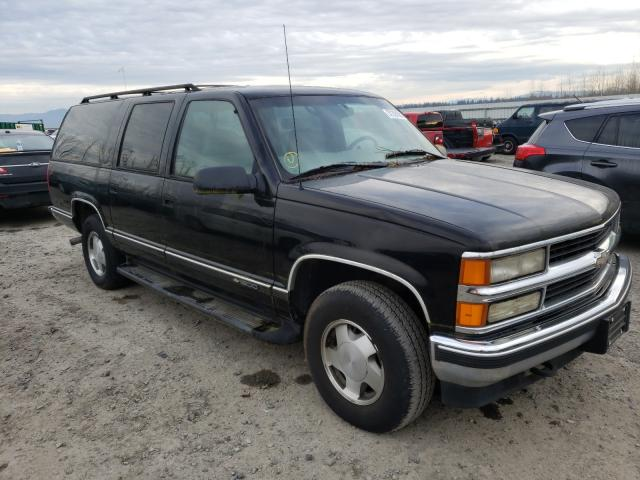 Chevrolet Suburban K salvage cars for sale: 1998 Chevrolet Suburban K