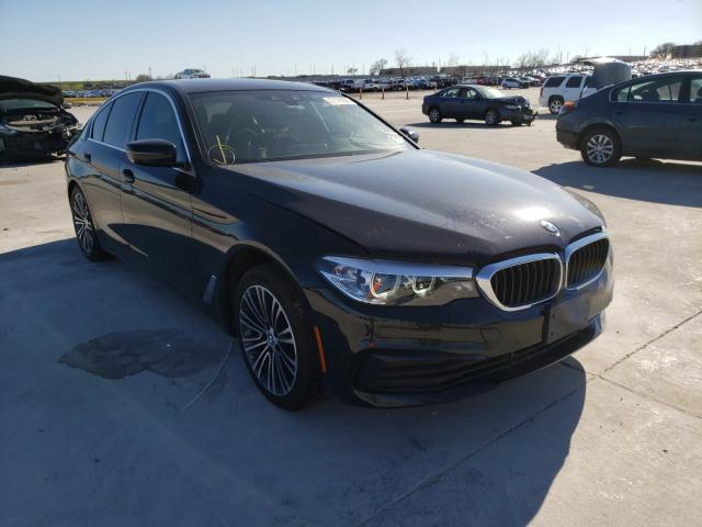 Salvage cars for sale from Copart Grand Prairie, TX: 2019 BMW 530 I