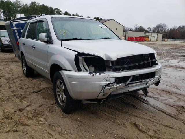 Salvage cars for sale from Copart Seaford, DE: 2003 Honda Pilot EX