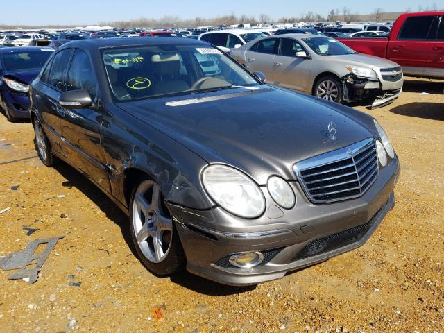 Mercedes-Benz salvage cars for sale: 2009 Mercedes-Benz E 350 4matic