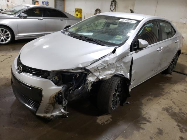 2014 TOYOTA COROLLA L - Left Front View