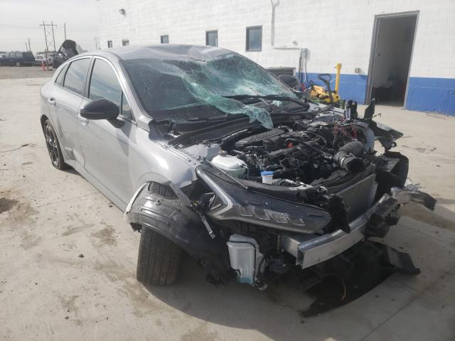 Salvage cars for sale from Copart Farr West, UT: 2021 KIA K5 GT Line