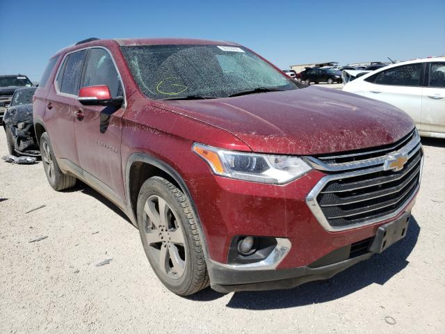 Salvage cars for sale from Copart San Antonio, TX: 2018 Chevrolet Traverse L