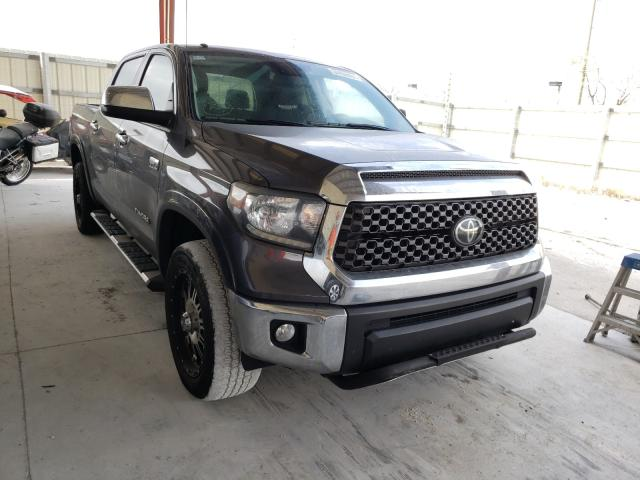 Salvage cars for sale from Copart Homestead, FL: 2018 Toyota Tundra CRE