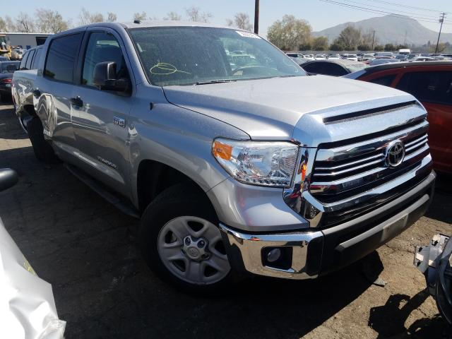 Salvage cars for sale from Copart Colton, CA: 2017 Toyota Tundra CRE