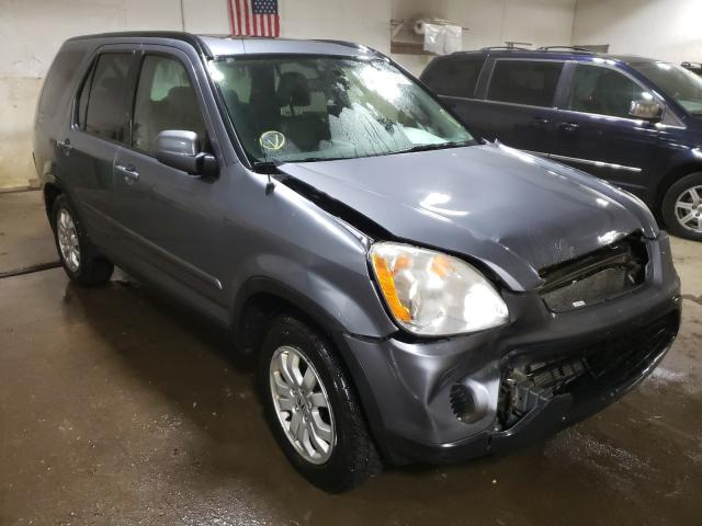Salvage cars for sale from Copart Portland, MI: 2005 Honda CR-V SE