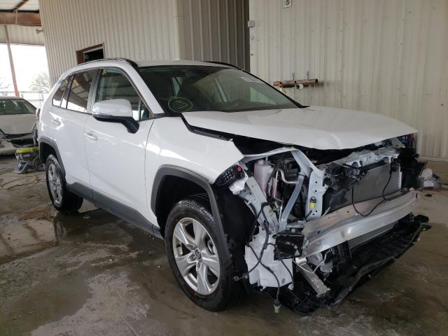 Salvage cars for sale from Copart Homestead, FL: 2021 Toyota Rav4 XLE