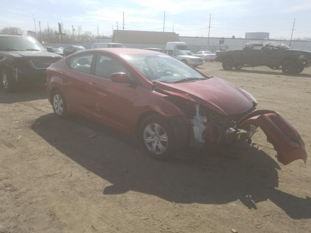 Salvage cars for sale from Copart Hammond, IN: 2016 Hyundai Elantra SE