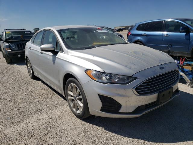 Salvage cars for sale from Copart San Antonio, TX: 2019 Ford Fusion SE