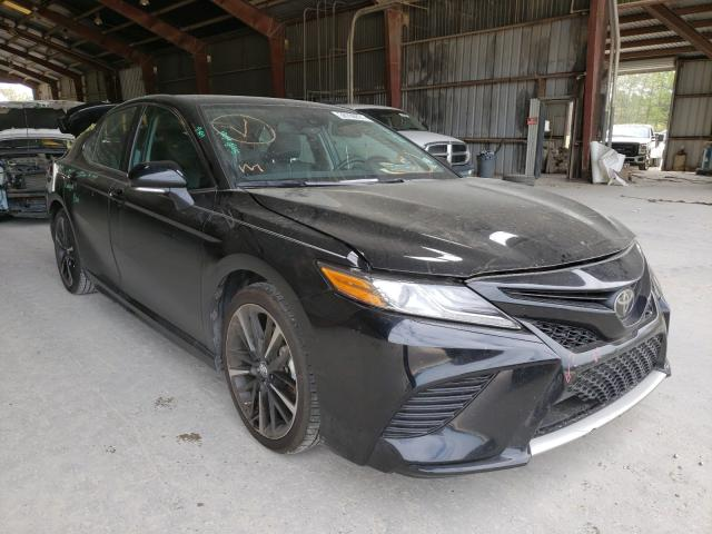 Salvage cars for sale from Copart Greenwell Springs, LA: 2019 Toyota Camry XSE