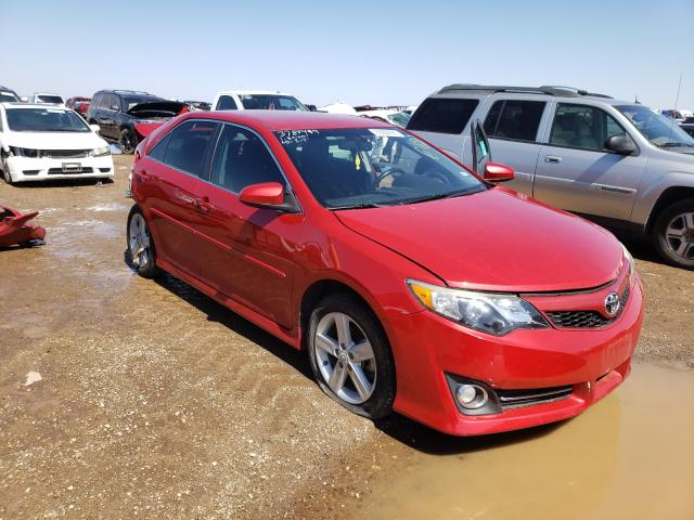 Salvage cars for sale from Copart Amarillo, TX: 2012 Toyota Camry Base