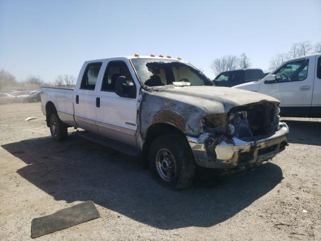 Salvage cars for sale from Copart Baltimore, MD: 2002 Ford F350 SRW S