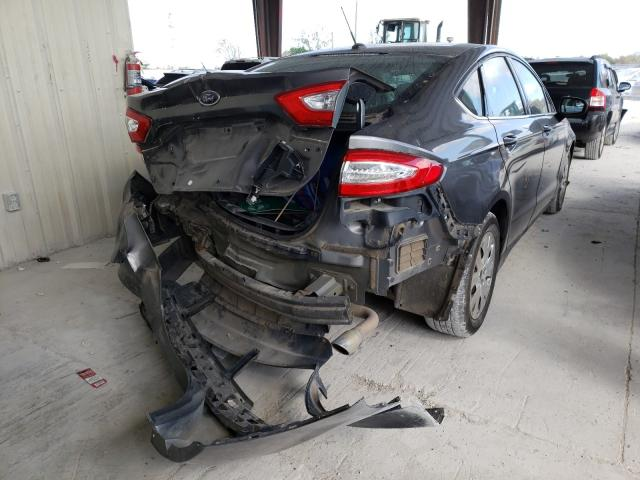 2014 FORD FUSION S - Right Rear View