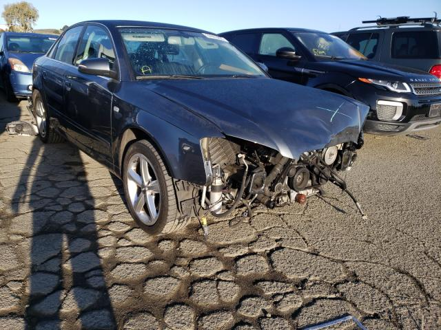 Salvage cars for sale from Copart Martinez, CA: 2007 Audi A4 3.2 Quattro