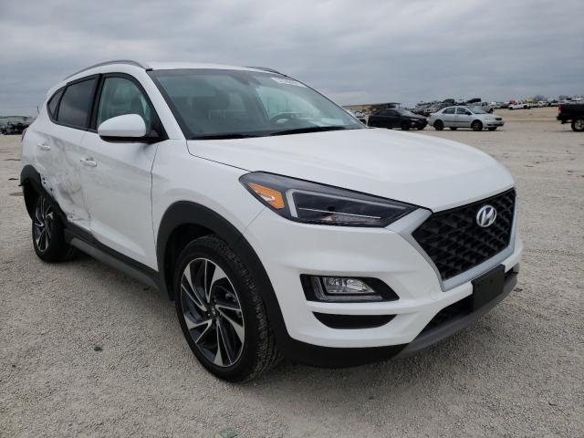 Salvage cars for sale from Copart San Antonio, TX: 2020 Hyundai Tucson Limited