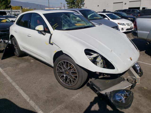 Porsche salvage cars for sale: 2018 Porsche Macan