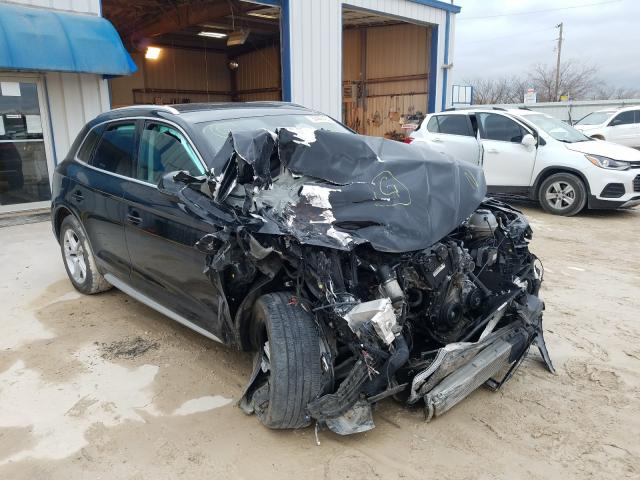 Salvage cars for sale from Copart Abilene, TX: 2019 Audi Q5 Premium