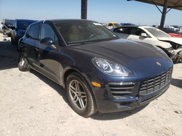 Salvage cars for sale from Copart Temple, TX: 2018 Porsche Macan