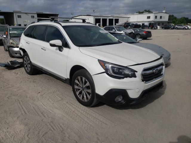 Salvage cars for sale from Copart Riverview, FL: 2019 Subaru Outback TO