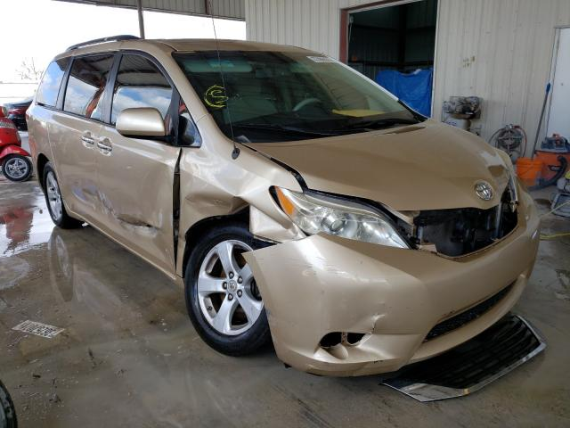 Salvage cars for sale from Copart Homestead, FL: 2012 Toyota Sienna LE