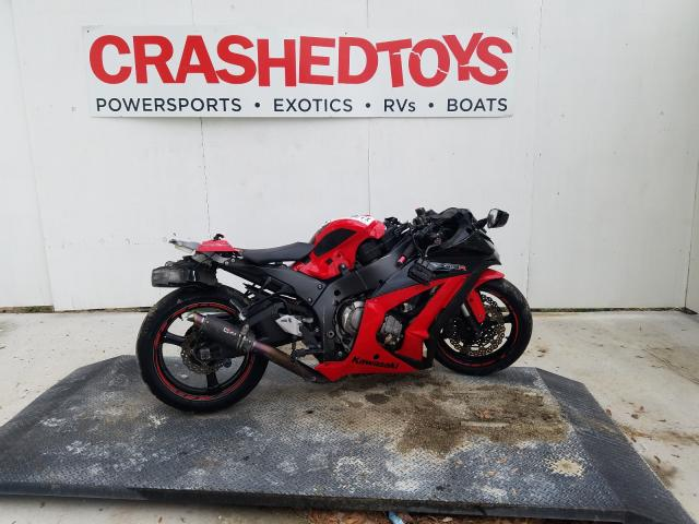 Salvage cars for sale from Copart Ocala, FL: 2012 Kawasaki ZX1000 J