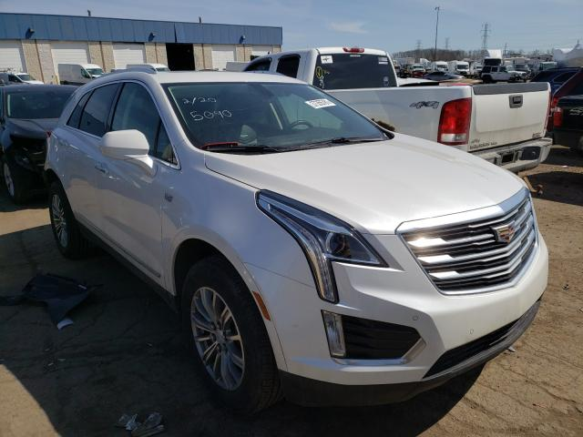 Salvage cars for sale from Copart Woodhaven, MI: 2018 Cadillac XT5 Luxury
